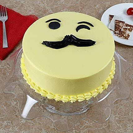 Tasty Cream Cake for Fathers Day: Designer Cakes for Fathers Day