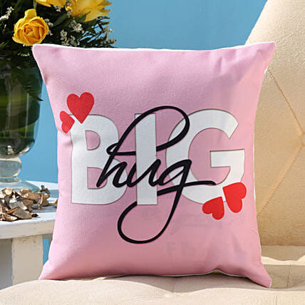 The Big Hug Cushion: Hug Day Gifts