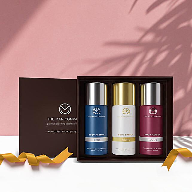 The Man Company Body Perfume Trio: Cosmetics & Spa Hampers