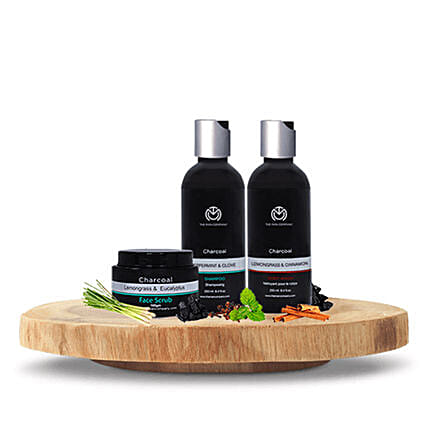 The Man Company Cleansing Cleansing trio: Send Romantic Gift Hampers