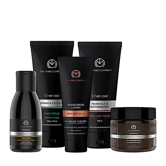 The Man Company Total De-Tan Regime: Cosmetics & Spa Hampers