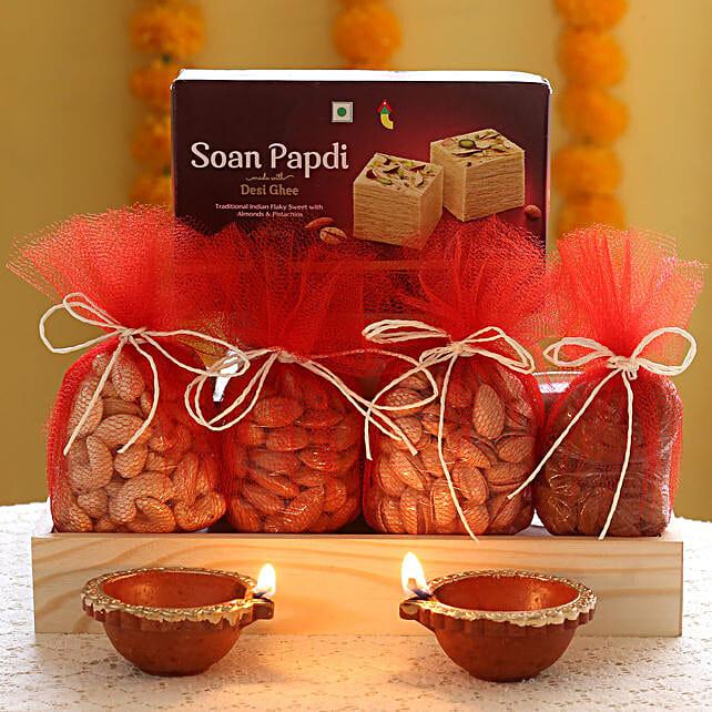 Thrill In Diwali: Diyas