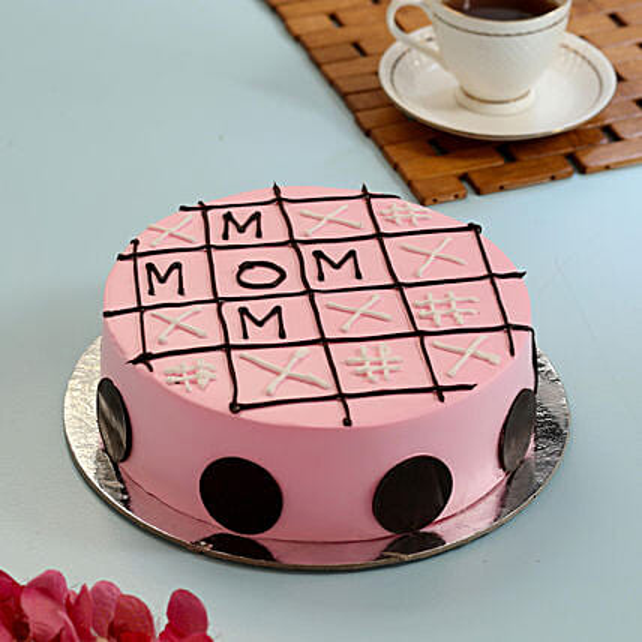 Tic Tac Toe Cake For Mom: Send Vanilla Cakes