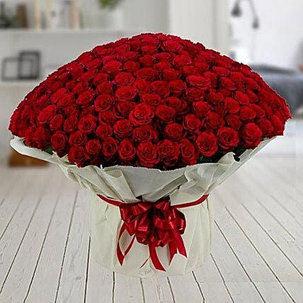 500 Red Roses Premium Bouquet: Best Gifts to India