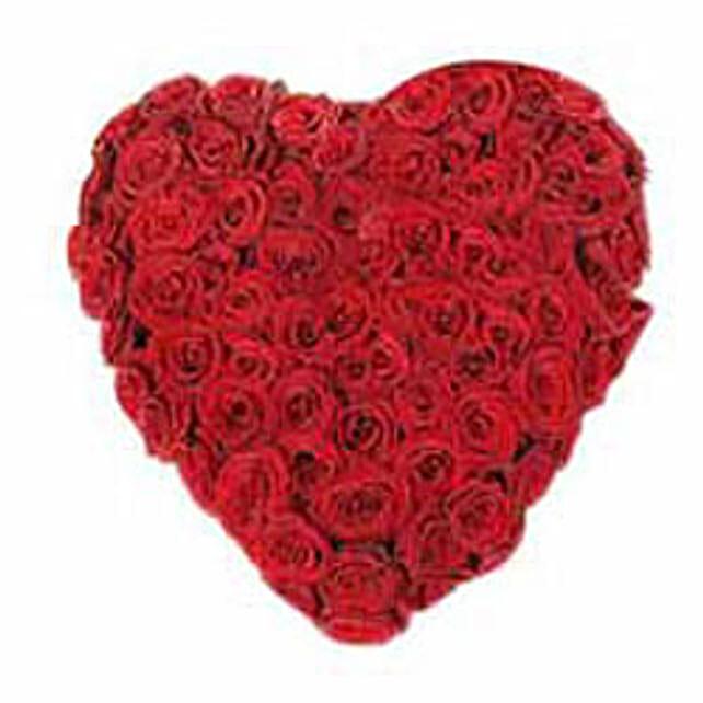A Innocent Heart: Heart Shaped Flowers