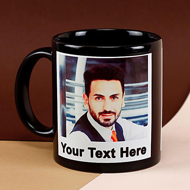 Black Mug Personalized: Personalised Mugs