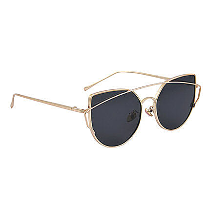 Black Round Unisex Sunglasses: Sunglasses Gifts