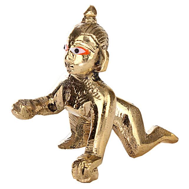 Brass Bal Shri Krishna: Show Pieces