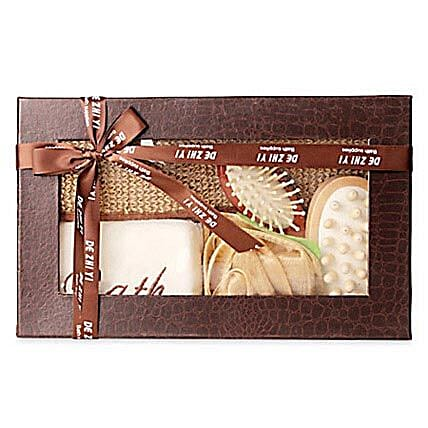 Brown Body Spa Kit: 21st Birthday Gifts