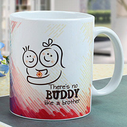 Buddy Brother Mug: Send Rakhi to Raipur