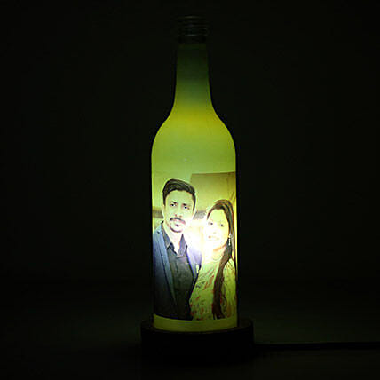 Glow Your Memory Personalized Lamp: Personalised Gifts Barasat