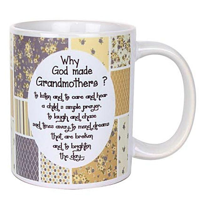 Grandmothers Printed Mug: Grandparents Day Mugs