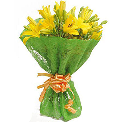 Green Light For Love: Yellow Flowers