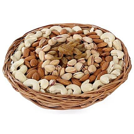 Half kg Dry fruits Basket: Gifts to Badaun