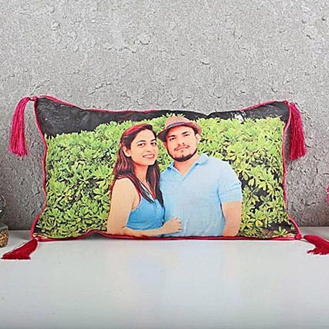 Personalised Love Cushion: Send Birthday Cushions