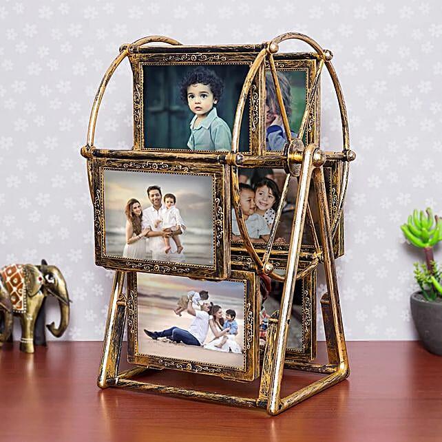 Personalised Swing Wheel Photo frame: Personalised Photo Frames