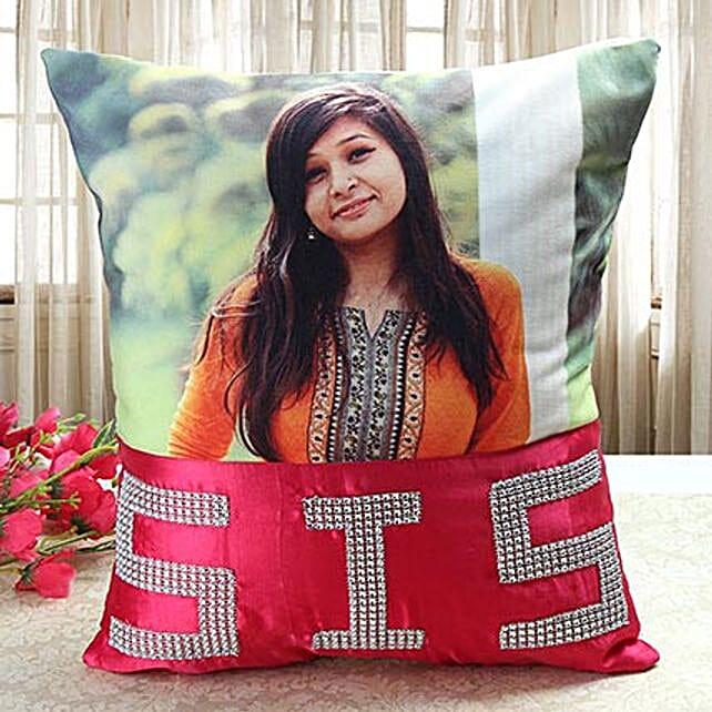 Personalized Comfy Cushion: Personalised Cushions for Bhai Dooj