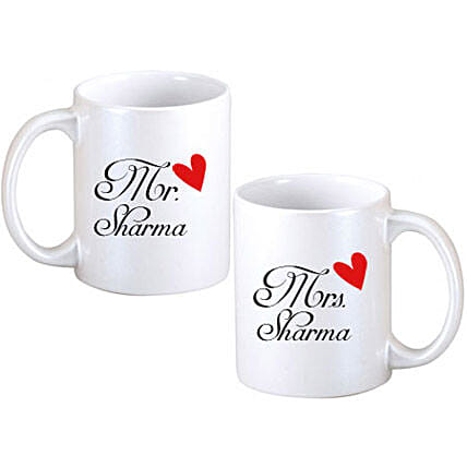 Personalized Couple Mugs: Mugs for anniversary