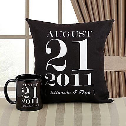 Personalized Memories Combo: Personalised Mugs for Wedding