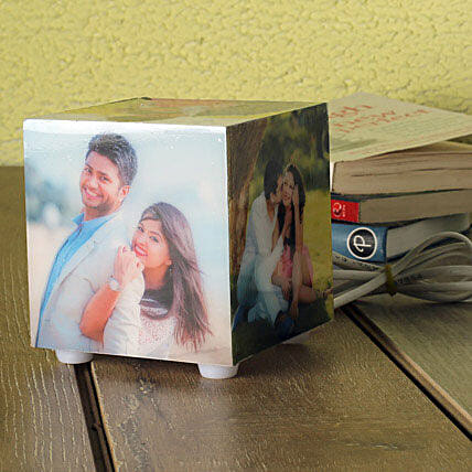 Personalized Memories Lamp: Personalised Gifts Amravati