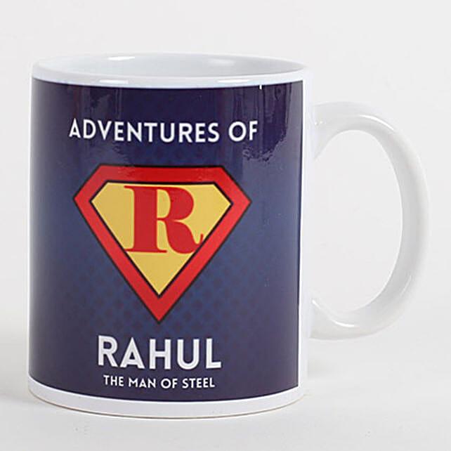 Personalized Mug for Adventurous Buddy: Personalised Mugs for Bhai Dooj