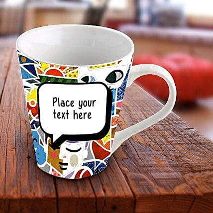 Personalized Vibrant Mug: Gifts Delivery In Shilphata