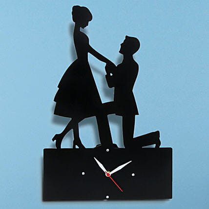 Propose Wall Clock: Send Gifts for Her
