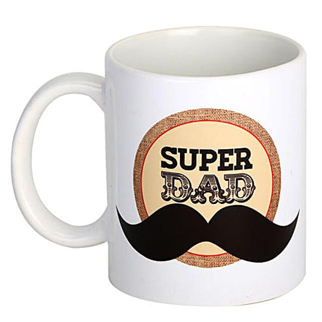 Super Dad Coffee Mug: Gift for Dad
