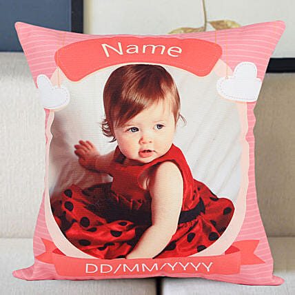 Personalized Little Angel Cushion: