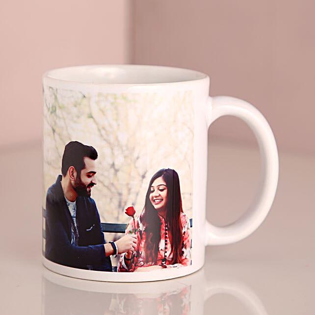Personalized Special Couple Mug: Custom Photo Coffee Mugs