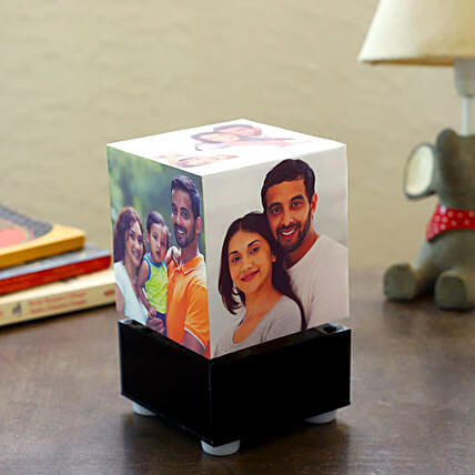 Personalized Rotating Lamp Mini: Wedding Gifts