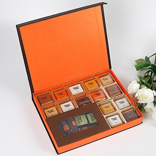 20 Premium Chocolates Gift Box: Homemade Chocolate Gifts