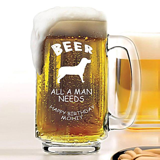 Personalised Beer Mug 1080: