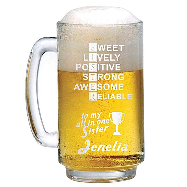 Personalised Beer Mug 1308:
