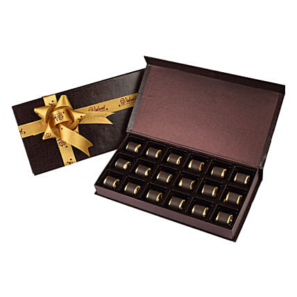 Delicious Assorted Chocolates 18 Pcs: Homemade Chocolate Gifts