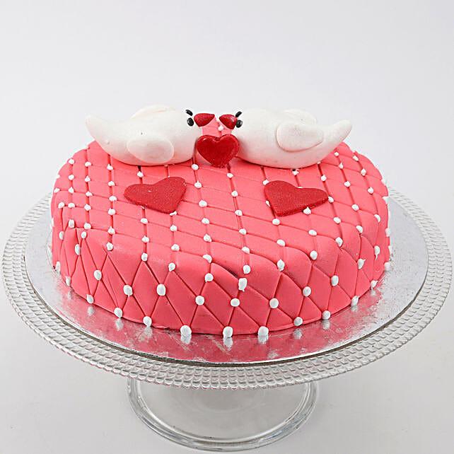 Kissing Birds Cake: Send Designer Cakes