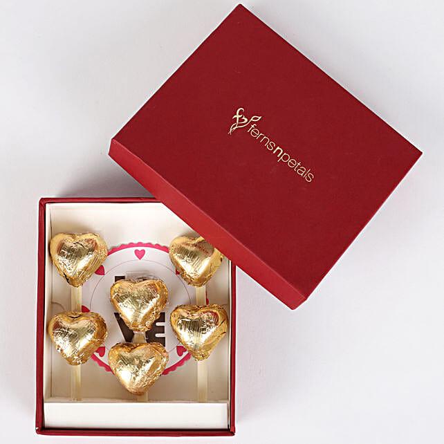 Handmade Chocolates in FNP Red Box: Handmade Chocolates