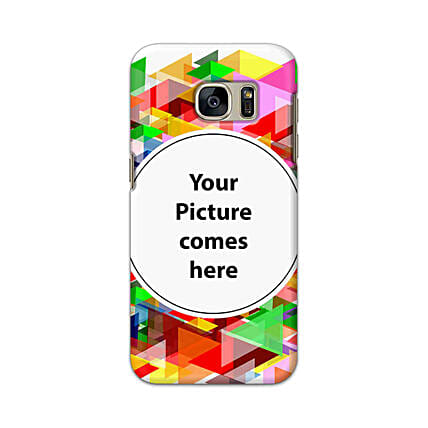 Samsung Galaxy S7 Customised Vibrant Mobile Case: Samsung Phone Personalised Back Covers