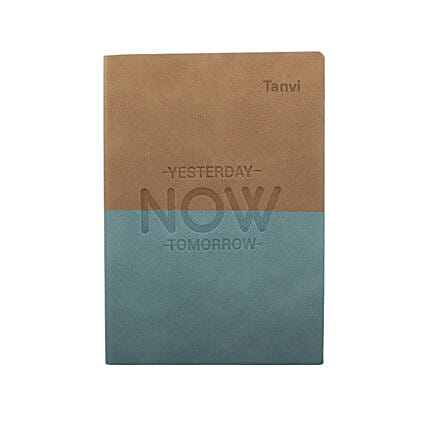 Live In The Moment Personalised Notebook: Personalised Stationery