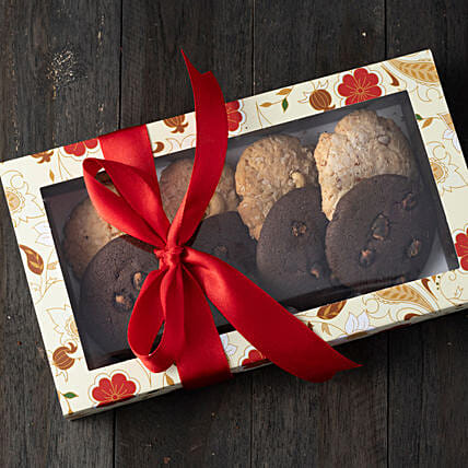 Box Of Assorted Cookies: Gourmet Gifts India
