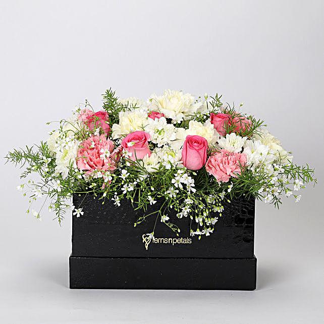 The Dainty Floral Box Arrangement: