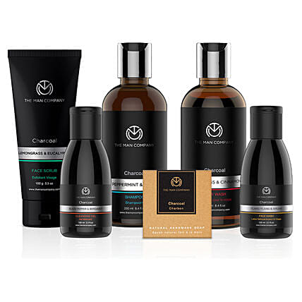 The Man Company Charcoal Gang: Gift Hampers