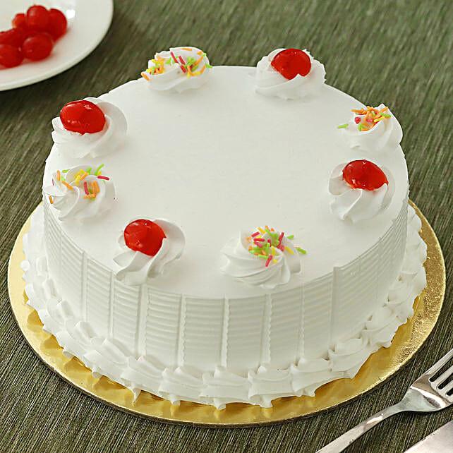 Fresh Vanilla Cake: Cake Delivery in Katihar