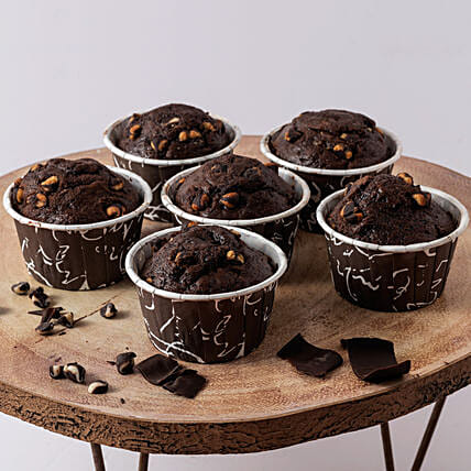 Yummy Oreo Chocolate Muffin- 500 gms: Cupcakes