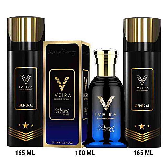 Iveira Italiano Perfume & Black Deo Combo: Buy Perfume