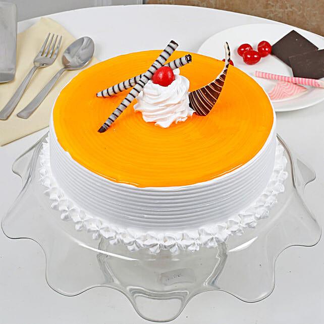 Yummy Mango Cream Cake: Mango Cakes to Bengaluru