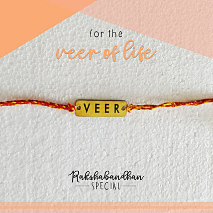 For Your Veer Quirky Rakhi & Card: Send Rakhi to Noida