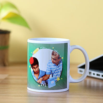 Special Picture Mug For Teacher: Personalised Mugs