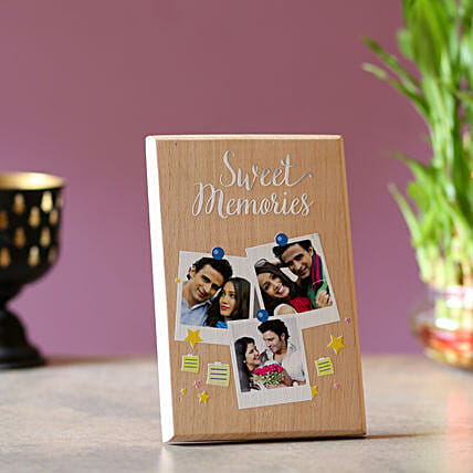 Sweet Memories Personalised Plaque: Birthday Personalised Gifts