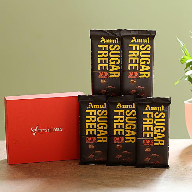 Box Of Sugar Free Amul Chocolates: Amul Chocolates